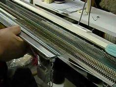 Using the Garter Bar on the Knitting Machine by Carole Wurst