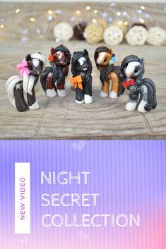 Night Secrets, Polymer Clay Animals, Sakura Haruno, Cool Names, Ponies, Animal Drawings, The Darkest, Adoption, Cute Animals