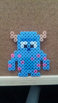 Sulley Monsters Inc. perler beads