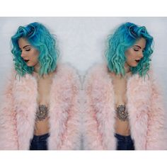 Pink marshmallowness | @SHRstyling #mermaid