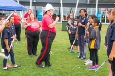 Alfs Fifth Waikato Dragoons - in training