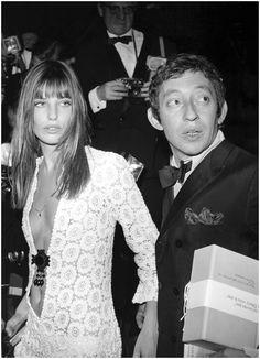 Portrait of Serge Gainsbourg and Jane Birkin, 1969