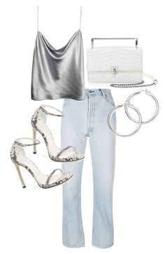 """""""Untitled #23609"""" by florencia95 ❤ liked on Polyvore featuring Botkier, RE/DONE and Stuart Weitzman"""
