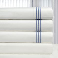 Pointehaven Egyptian Cotton Deep Pocket Embroidered Percale Sheet Set and Pillowcase Seperates - Overstock™ Shopping - Great Deals on Pointehaven Sheets