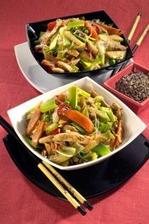 Asian Recipes, Ethnic Recipes, Pasta Noodles, Japchae, No Cook Meals, Food Hacks, Food And Drink, Cooking, Fitness