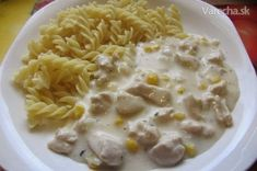 Kuracie soté v syrovej omáčke What To Cook, Cheeseburger Chowder, Ham, Macaroni And Cheese, Chicken Recipes, Food And Drink, Menu, Healthy Recipes, Healthy Food