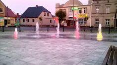 Kolorowe ;-) fontanny na Gostyńskim Rynku