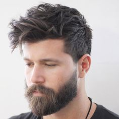 Messy Taper Hairstyle - Best Men's Hairstyles: Cool Haircuts For Men. Most Popular Short, Medium and Long Hairstyles For Guys hair styles for men 125 Best Haircuts For Men in 2019 Top Haircuts For Men, Cool Hairstyles For Men, Round Face Haircuts, Cool Haircuts, Hairstyles Haircuts, Mens Hairstyles Round Face, Stylish Haircuts, Short Haircuts, Casual Hairstyles