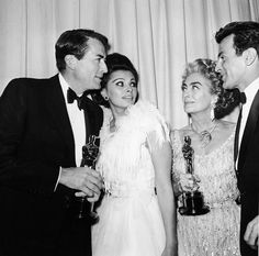 Gregory Peck, Sophia Loren, Joan Crawford and Maximillian Schell
