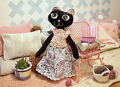 Hračky - mačička - 7522810_