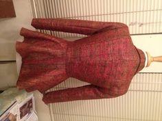Blouse Batik, Peplum Jacket, Sewing Projects, Sewing Patterns, Success, Couture, Fashion, Moda, Fashion Styles