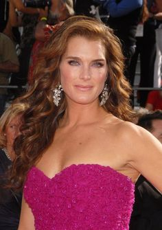 ⋆★Brooke Shields★⋆ginger for a while...