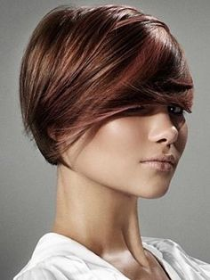 Short Hair - love the color and cut!