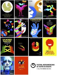 Identidad Festival Ibearoemaricano Teatro de Bogota