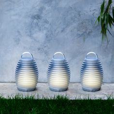 "••Mathmos Bump Lantern•• ""portable indoor outdoor light"" • portable / elegant / child friendly • splash proof • 4 bump able light colors • rechargeable / lasts 6hrs • by Mathmos, UK £65"