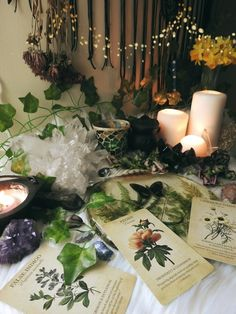 "sylvandreamdesigns: ""Freshened up my altar with more Spring vibes. Witch Alter, Nature Witch, Witch Room, Witch Cottage, Green Witchcraft, Baby Witch, Witch Decor, Modern Witch, Witch Aesthetic"