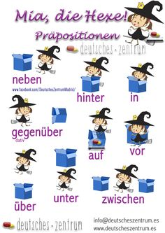 Lokal Präpositionen Deutsch Wortschatz Grammatik Alemán German DAF Vocabulario Study German, Learn German, Deutsch Language, German Grammar, German Language Learning, Grammar And Vocabulary, Idioms, Kindergarten, Germany