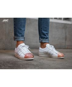 Adidas Australia Superstar 80S W 3D Metal Toe Ftwr White Ftwr White Off  White Trainers Off 13150e0626a