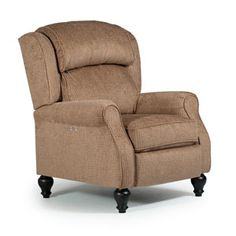 Recliners - Pushback Traditional Patrick Powerized Recliner with Turned Wood Legs by Best Home Furnishings at Jacksonville Furniture Mart Living Room Chairs, Living Room Furniture, Goods Home Furnishings, Power Recliners, Cool Chairs, Wingback Chair, Cool Furniture, Furniture Ideas, Love Seat