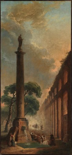 Hubert Robert | The Fountain | The Metropolitan Museum of Art