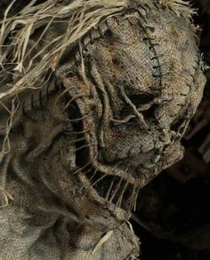 need a scary diy halloween costume check out this burlap sack face mask tutorial