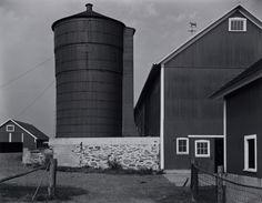 Edward Weston  -  Connecticut Barn, 1941 / Silver Gelatin Print  -  7.5 x 9.5