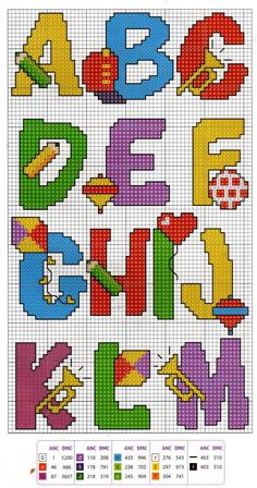 Ponto cruz. Cross stitch