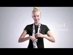 Como ponerse un pañuelo.. 4 pañuelos 16 maneras - YouTube