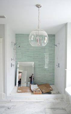 Tile color bathroom
