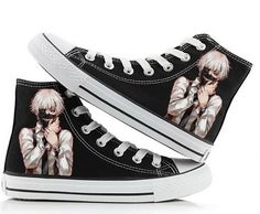 Tokyo Ghoul Anime Cosplay Shoes Canvas Shoes Sneakers