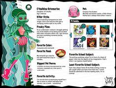 C'thalhina Octomarine Monster High OC by AlleyCat666.deviantart.com on @deviantART