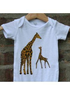Love this giraffe onesie!