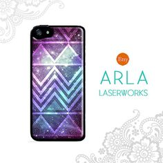 Aztec Geometric Space Galexy Design iPhone 4s 5s Case - Slim Fit iPhone Cover