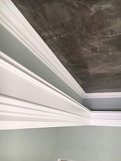 I Finished painting all these custom drywall moldings.  It really accents my venetian finish.