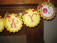 Beauty and the Beast Belle Themed Party Banner by cutnpaper, $16.00