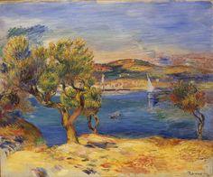 L'Estaque -  Pierre-Auguste Renoir