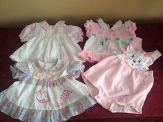 Darling lot of vintage baby girl clothing! Fancy Dress Online, Prince Charming Costume, Vintage Kids Clothes, Girl Outfits, Cute Outfits, Bebe Baby, Halloween Fancy Dress, Baby Kids Clothes, Girl Clothing