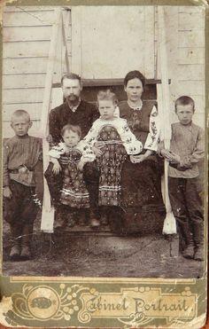 ''Українська сім'я'', село Радалівка ( Полтавська обл.),поч.ХХ ст.