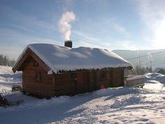 Cabin near Golsfjellet. The mountain farm ´Jondalen Fjellgård´ has an undisturbed location in the mountain area of ´Golsfjellet´, approx. 700 metres above sea level. Sea Level, Norway, Mountain, Snow, Cabin, House Styles, Home Decor, Decoration Home, Room Decor