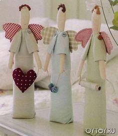 Примитивный мир. Интерьерные примитивные куклы.