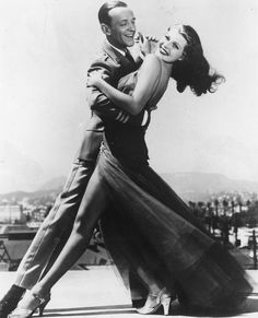 Rita Hayworth et Fred Astaire