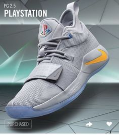 Nike PG 2.5 Playstation Size 8.5 Paul George Limited Edition Grey   Confirmed  Custom Jordans 94a5f7242