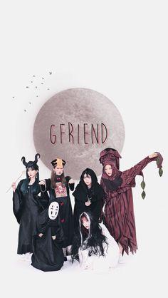 Gfriend Album, Sinb Gfriend, Kpop Girl Groups, Kpop Girls, Friends Group Photo, Gfriend Profile, Kpop Backgrounds, Lock Screen Wallpaper, Wallpaper Lockscreen