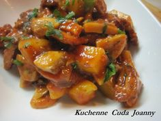 Kociołek Carski / Danie Jednogarnkowe – Kuchenne Cuda Joanny Grilling, Pork, Dishes, Chicken, Cooking, Ethnic Recipes, Sweet, Diet, Kale Stir Fry
