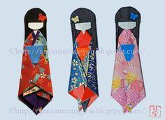 Muñecas japonesas de papel: INSTRUCCIONES MUÑECA DE PAPEL (02) PAPER DOLL NUMBER 02