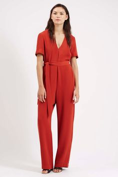 Topshop Belted Tailored Jumpsuit available for $140.00