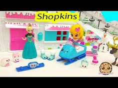 8 New Shopkins Season 5 Playset Frosty Fashion Collection with Elsa Cookieswirlc Video - YouTube