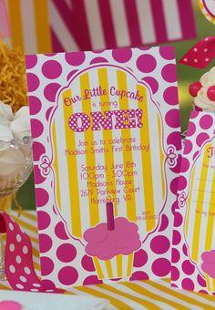 Cupcake Party Invitation  Cupcake Birthday by AmandasPartiesToGo, $14.00
