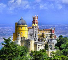 ~Pena Palace, Sintra, Portugal~