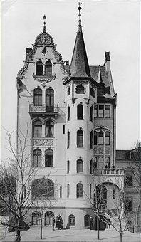 Villa Grisebach.. Die 1891 erbaute Villa in der Fasanenstrasse 25.. 1893